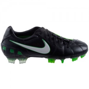NikeAirZoomTotal90IIIBlackGreenLeather
