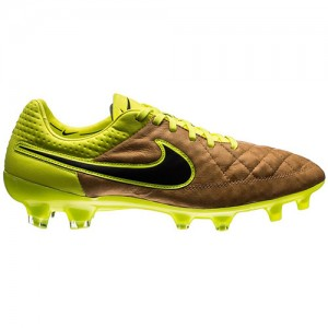 NikeTiempoLegend4LeatherTechCraftGoldNeon